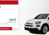 Fiat 500 X 1.0 Cult €. 169 al mese con NOLEGGIO CHIARO LEASYS