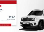 JEEP Renegade 1.0 Longitude €. 199 al mese con NOLEGGIO CHIARO LEASYS